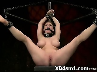 Dom Loving Bondage Woman Inflicting Pain