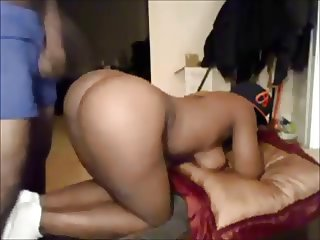Amateur booty ebony