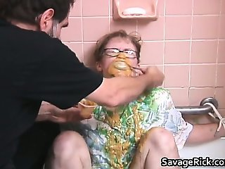 Nasty hot MILF blonde babe gets bondage part3