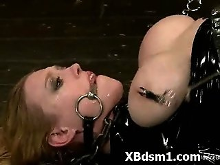 Extreme Horny Bondage Hoe Enjoying Pain
