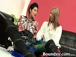 S&M Stimulating Dom In Latex Deviance