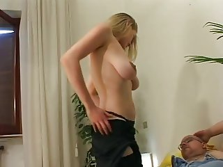 Tatiana, beautiful blonde and large Pussy