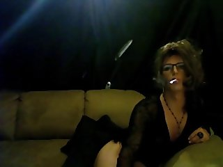 Beautiful CD Alexa smoke tease