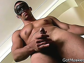 Muscled latin stud busting nuts part6