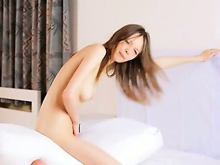 strip and masturbating ultracute girl