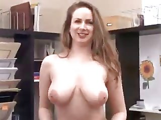 Busty, Thick Mature Toying With Ice Cube