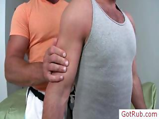 Hairy chested guy getting examined part6