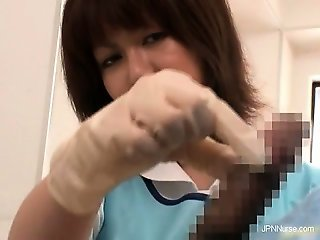 Gorgeous nurses get horny when sick part1
