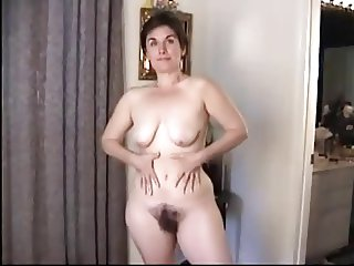 casting strip tease hairy pussy milf pose slow