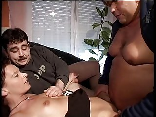 Why two ugly guys can fuck this nice MILF