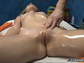 Sexy blonde babe gets her wet pussy part6