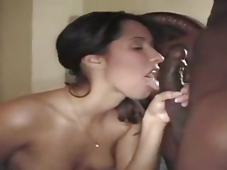 latina fucked hard by a black shlong