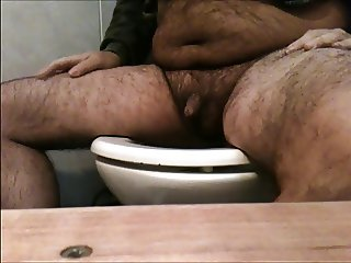 Masturbation in toilet