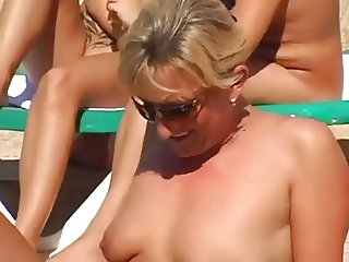 Pool Side Fun - Party Time