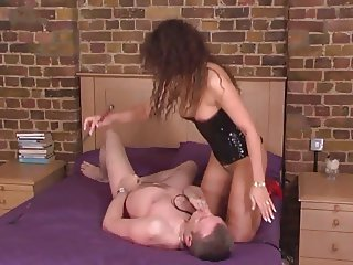 Slave lick Superior British Mistress