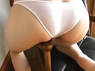softcore asian panty tease