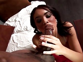 Georgous Latina Gets BBC