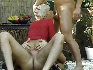 blond woman analed and dped