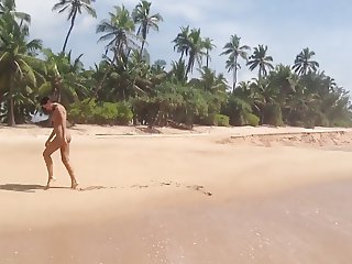 Ukrainian nude beauty Innuska in Sri Lanka 2