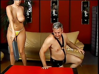 Apologise, but, dominatrix strapon gianna michaels can look