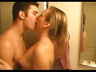 hot blonde couple sex 2 a