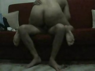 Horny boy fucked his turkish housewife