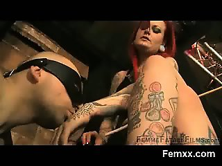 Fem Dom Chick In Vibrant Submission