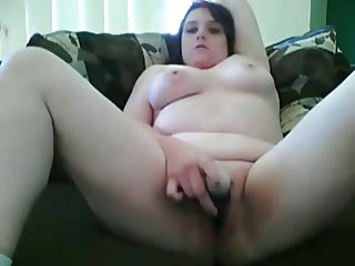 Horny Fat Chubby Teen playing with her Wet Pussy-TheBBWGF