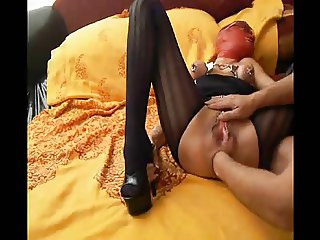 Red Mask Rachel - Anal Prolapse SUPER SQUIRT!