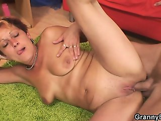 Hung neighbor pounds old bitch
