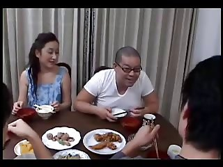 46yr old Japanese Mom Teaches not her Step Son (Uncensored)
