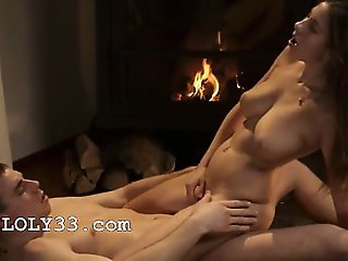 titty romantic memories by the fire