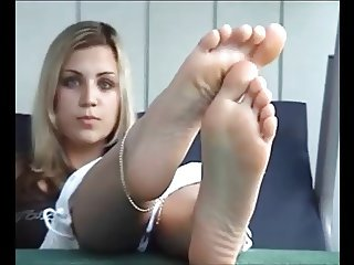 Beautiful Blonde Soles