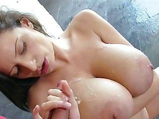 Cumming on Big TIts Combo 6