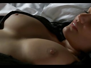 Breathtaking woman masturbating