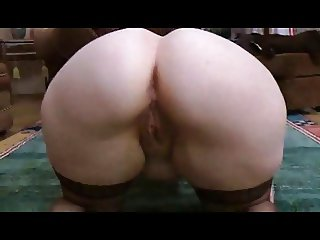 Big Booty Mature. Solo doggy style.