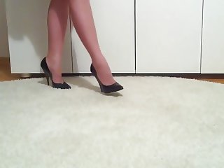 Thigh High Boots, Nylons and Stiletto Heels