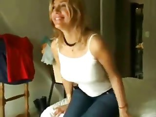 Argentinian Blonde with puffy Nipples gets fucked