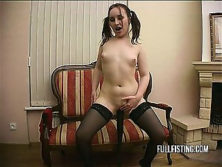 Cute Teen Pussy Swallow Huge Bat