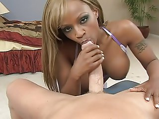 Ebony BJ White BF