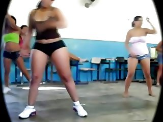 Big Booty Latin Teen Workout
