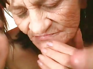 Mature Granny Threesome