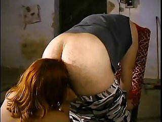 obedient slave lick master ass
