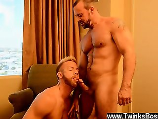 Hot twink scene Of course, when his boss Casey interrupts hi