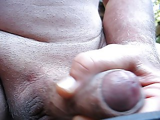 65 yrold Grandpa close penis #4 wank upclose closeup mature