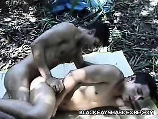 Latinos Having Sex Outdoors