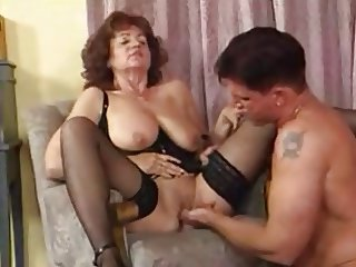Mature woman and guy - 28