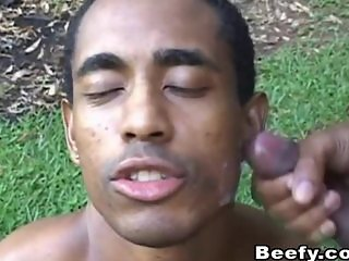 Black Gay Studs Harcore Sex Outdoors