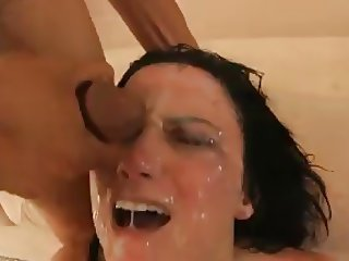 Great blowbang and bukkake cumshot compilation by dimecum