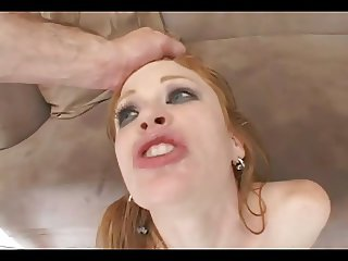 Redhead Madison Loves A Rough DP